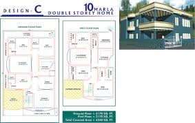 home design plans map home architecture house floor plan by creativez marla in pakistan