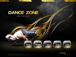 informational website templates dance zone easy flash template id 300110555 from simavera com