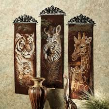 safari animal wall tapestry panel set safari animals safari and safari animal wall tapestry panel set