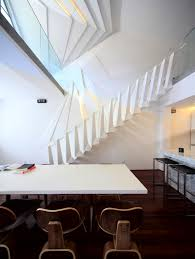 Interior Stairs Design In Duplex Apartments Modern Atmosphere Recreated In A Duplex Apartment In Shanghai