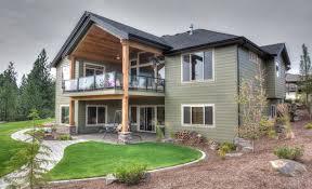 house plans with daylight basements daylight basement craftsman seattle by spokane house plans inc