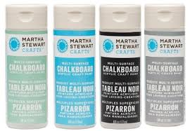 martha stewart acrylic chalkboard paint craft select your color