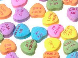 valentines heart candy candy heart sayings 10 years of necco conversation sweethearts