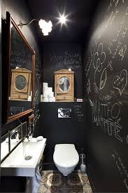 Tapisserie Wc Toilettes by Black Chalk Bathroom U2026 Pinteres U2026