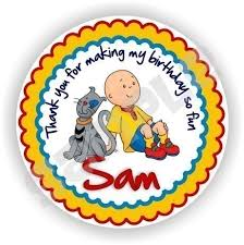 142 caillou stuff images caillou birthday