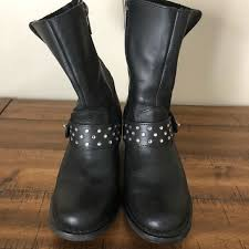 harley motorcycle boots harley davidson shoes womens harley davidson boots size 8 poshmark