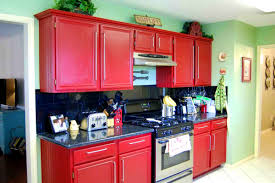 Red Birch Kitchen Cabinets Bathroom Captivating Red Kitchen Cabinets Ikea And Get Inspired