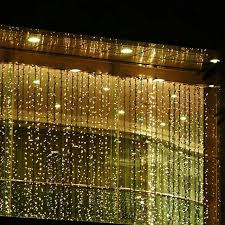 3m 3m led window lights outdoor curtain string l