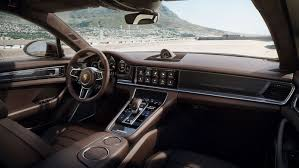 porsche panamera inside porsche panamera sport turismo is the finest of them all