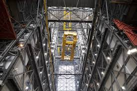 monumental modifications upgrades on the 175 ton crane in vab nasa