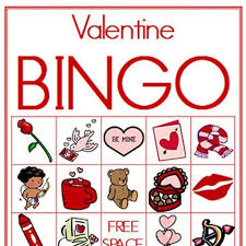 valentines bingo bingo use hots or heart candies for markers