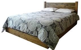Low Profile Platform Bed Frame Low Profile Platform Bed Rustic Oak Rustic Kids Beds By