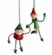 2011 mischievous hiding elves hallmark ornament hallmark