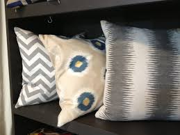 design trend decorating with an ikat pattern