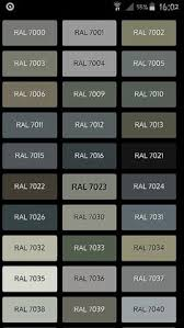 ral 7005 google search color charts pinterest google