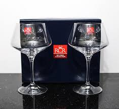 Wine Goblets Amazon Com Rcr Da Vinci Collection Luxury White Wine Glasses