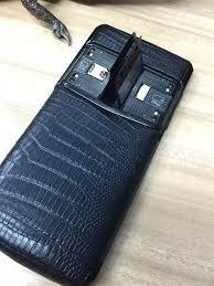 vertu signature touch bentley vertu signature black lizard 4g phone 21mp wireless charger 64gb
