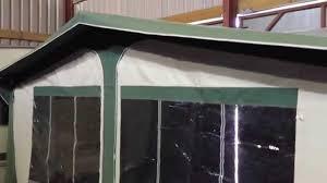 Glossop Caravans Awnings Dorema Cardinal Caravan Awning Youtube