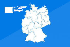 map of germany with states and capitals quiz on german states capitals