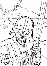 the evil darth vader in star wars coloring page download u0026 print
