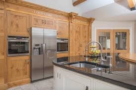 Kitchen Appliance Stores - traditional oak shaker kitchen northern ireland by hannaway hilltown