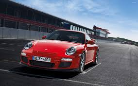 red porsche 911 red porsche 911 at the start line wallpaper car wallpapers 54216