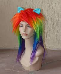 my pony costume colorful my pony inspired costume wigs tails