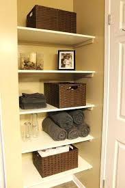 bathroom linen closet ideas bathroom closet ideas midtree co
