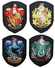 gryffindor crest iron sew patch embroidered badge harry