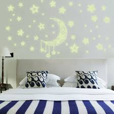 Decoration Star Wall Decals Home by Many Star Filled Diy Stars Shine Can Remove Wall Ceiling