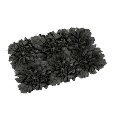 amazon com fhe group tissue rug bath mat 30 by 20 inches black