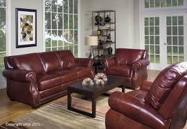 Top Leather Sofas by Traditional Top Grain Leather Sofa With Nailhead Trim By Usa