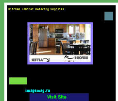 Kitchen Cabinet Refacing Supplies  The Best Image Search - Kitchen cabinet refacing supplies