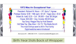 Top 20 Candy Bars Diamond 90th Birthday Candy Bar Wrapper Customcandybarwrapper