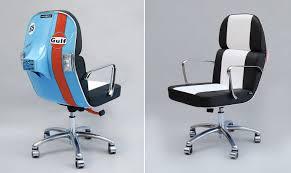 Modern Home Office Furniture Nz Furniture Cool Office Chair In Orange Featuring Jossio Quattro