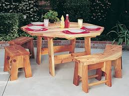 Woodworking Plans For Octagon Picnic Table by Best 20 Octagon Table Ideas On Pinterest Wooden Table Top