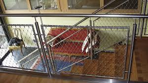 ringhiera metallica ringhiera in acciaio inox in rete metallica da interno da