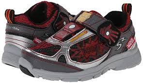 light up running shoes stride rite marvel avengers iron man light up athletic shoe