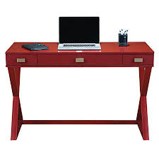 see jane work kate writing desk red by office depot u0026 officemax