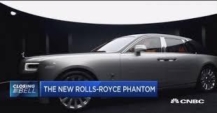 roll royce phantom rolls royce rolls out first phantom in 13 years