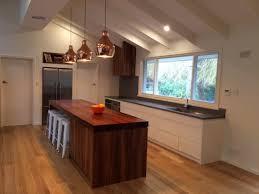 kitchen island panels kitchen island bench top 90mm blackwood timber end panels 90mm