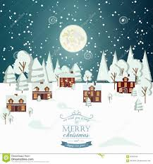 real estate new years cards winter snow countryside landscape city real estate