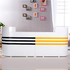 Mobile Reception Desk Professional Design High Quality Woden School Mobile Reception