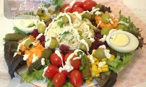 de cuisine ramadan salade composée au riz et thon salade pour ramadan 2017 recipe