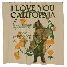 Frankenstein Shower Curtain by I Love You California Bear Shower Curtain U2013 Sharp Shirter