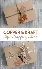 copper wrapping paper diy gift wrapping ideas copper kraft consumer crafts