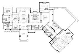 contemporary floor plans contemporary style house plan 4 beds 3 5 baths 4983 sq ft plan