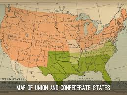 Confederate States Map by Max By Max Hagberg