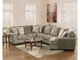 Ashley Furniture Dealer Login Ashley Furniture Patola Park Patina 4 Piece Small Sectional With