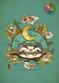 tattoo cat neko xiaobaosg on twitter yokai catch inspired by japanese tattoo and